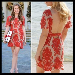 for love & lemons // san marcos backless dress NWT